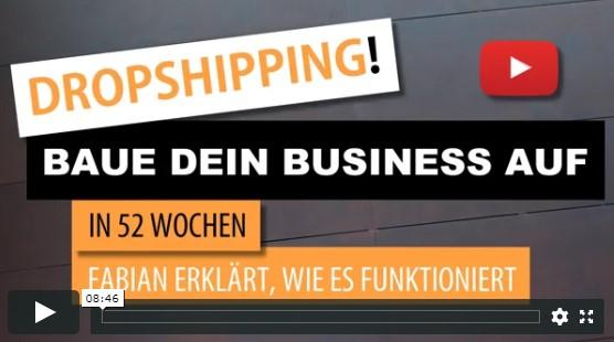 Dropshipping Online Seminar - Dieser Kurs geht 52 Wochen